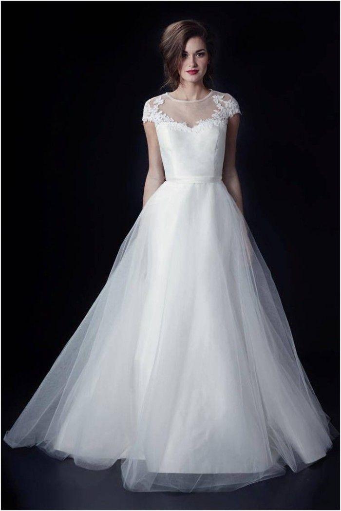 Clara Louise Wedding Dress by Heidi Elnora and Clara Skirt Heidi Elnora 2014