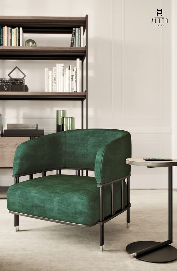 6 Stylish Armchairs That Will Harmonize Your Apartment   armchairs #modernchairs #interiordesign #velvetarmchairs   See more at: http://modernchairs.eu/stylish-armchairs-harmonize-apartment-yuliia/