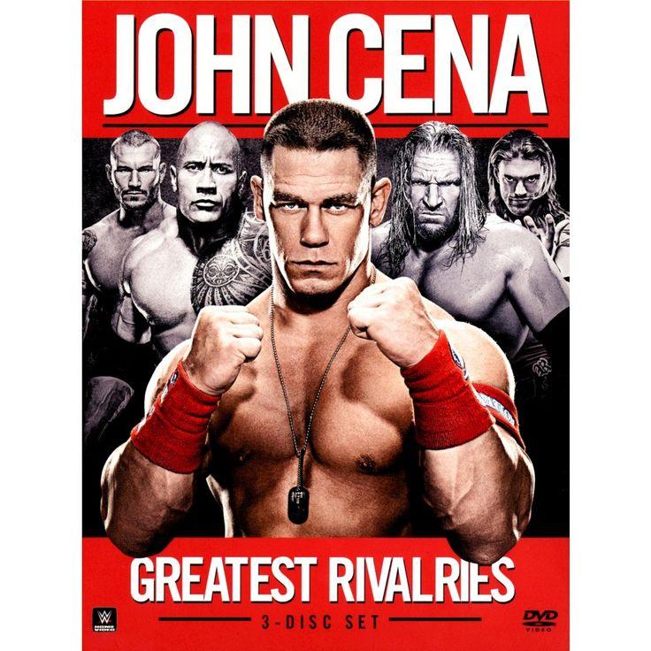 Wwe: John Cena's Greatest Rivalries [3 Discs]