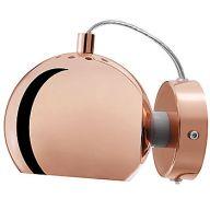 Design Belysning AS - Frandsen Ball Wall Krom/Kobber/Messing - Vegglamper - Innebelysning