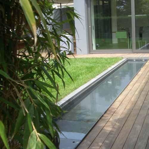 Terrassengestaltung mit wasserbecken  66 besten Terrasse Bilder auf Pinterest | Brunnen, Cortenstahl und ...
