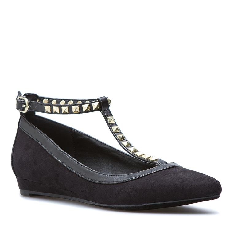 Shala Studded Flats: Black Flats Shoes, Shoes Flats, Fashion Shoes, Shala Shoes, Fashion Flats, Girls Fashion, Ballet Flats, Girls Shoes, Ballet Shoes