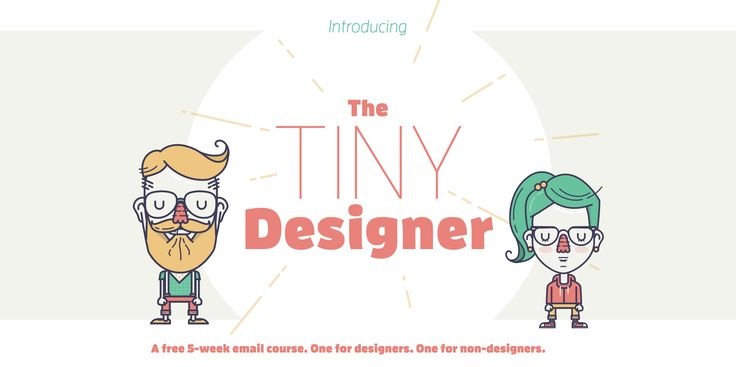 Illustration from The Tiny Designer   PatternTap   ZURB Library