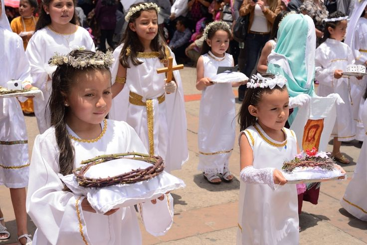 Colombian Easter celebration.