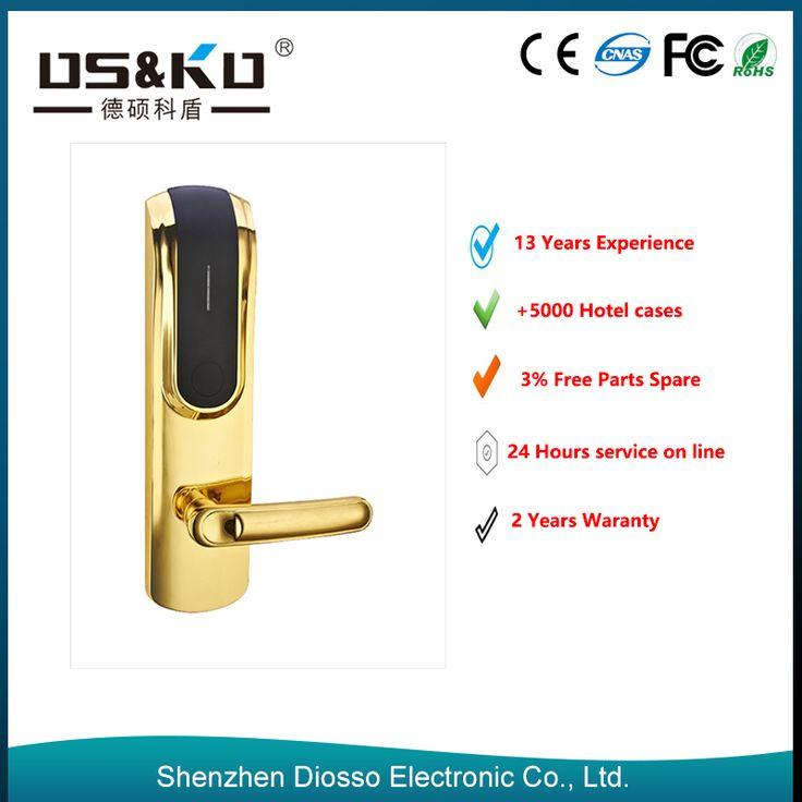 2015 China top security electronic key card hotel door lock