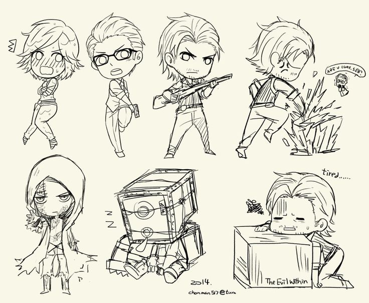 The evil within_WIP by ChanmanNo-7 on DeviantArt