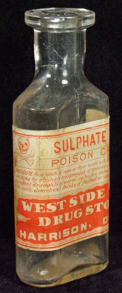 old medicine bottle.