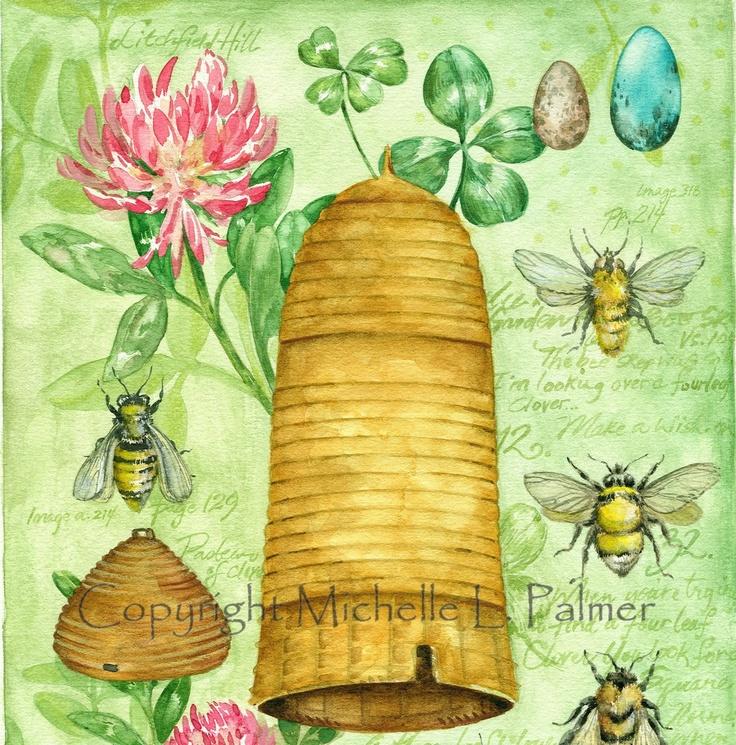 Michelle Palmer Bee Garden