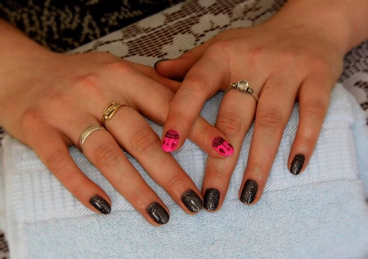 Dreamcatcher <3 #hybrid #nails #semilac