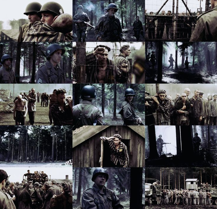 "Band of Brothers episodes: Why We Fight "" ""He says, it's a work camp for… Unerwunschte. I'm not sure what the word means, sir. Uh, unwanted, disliked maybe?"" """