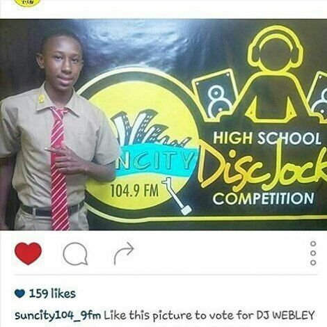 "Gm. ""Yutes Are The Future."" Can U Plz Go Over By @suncity104_9fm & Vote For My Lil Cuz @discjock_webley By Liking This Pic #Ty  _ _  #dj #musician #musicislife #jamaica #islandgirl #music #musicvideo #reggae #dancehall #follow4follow #likeforfollow #likes4likes #likes #likeme #followme #like4like #lit #likeforlike #bobmarley #carnival #jamaicanfood #jlp #pnp #vybekartel #popcaan #westindies by iamchillipeppa"