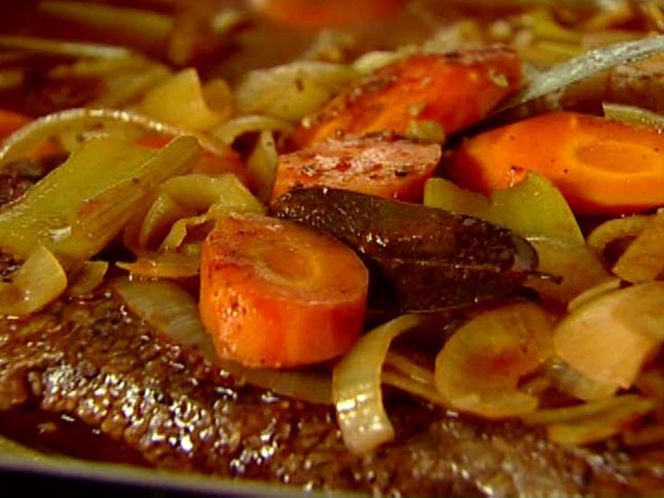 Brisket with Carrots and Onions recipe from Ina Garten via Food Network