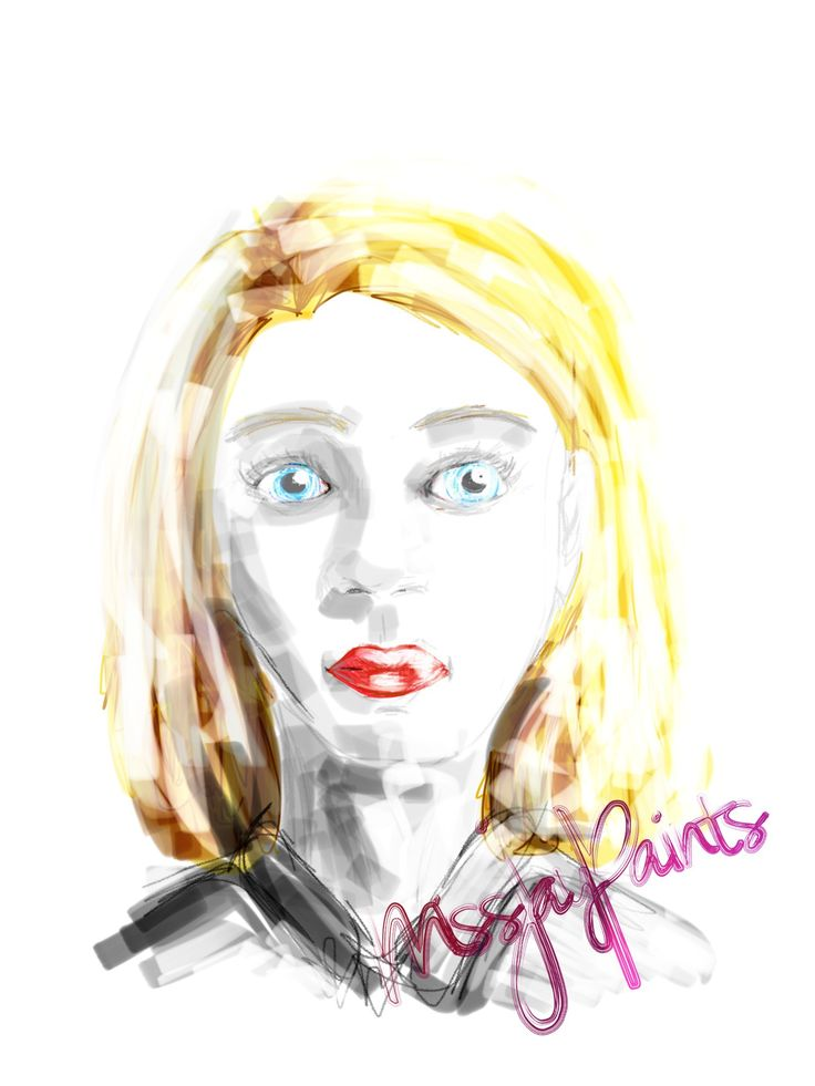 Original artwork by @missjaypaints. There's so much you can digitally produce on your iPad!!