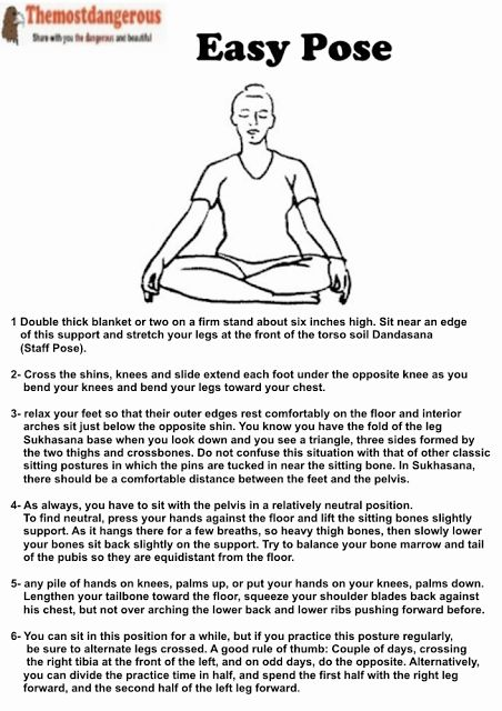Easy Pose - How a Can good health http://ift.tt/2dDRTFb  For thousands of years people around the world were sitting on the floor cross in positions such as Sikhs (Easy Pose) legs. Although this sitting posture seems simple and even banal when you practice with the clear intention Sikhs has the power to take deep inside that leads to a state of meditation and revealing the immense joy present in your heart.Sikhs a whole inner life that you will discover with practice. An aligned Sikhs…