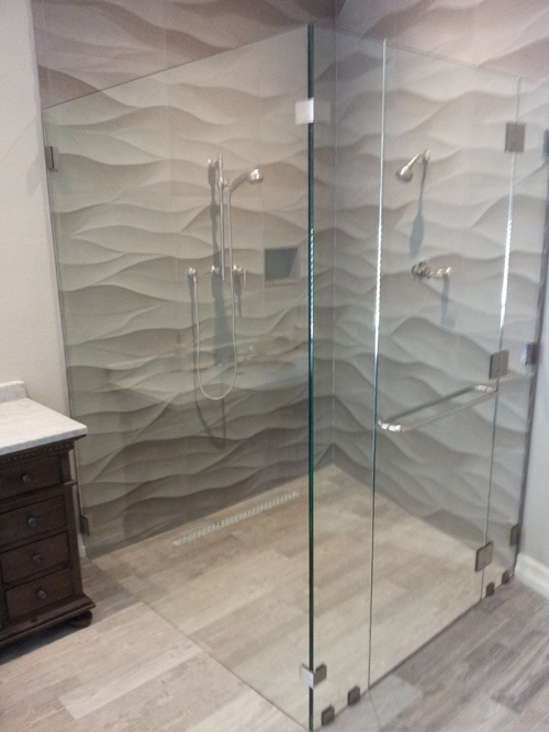 Seamless Glass Shower Doors Home Goodness Must Have