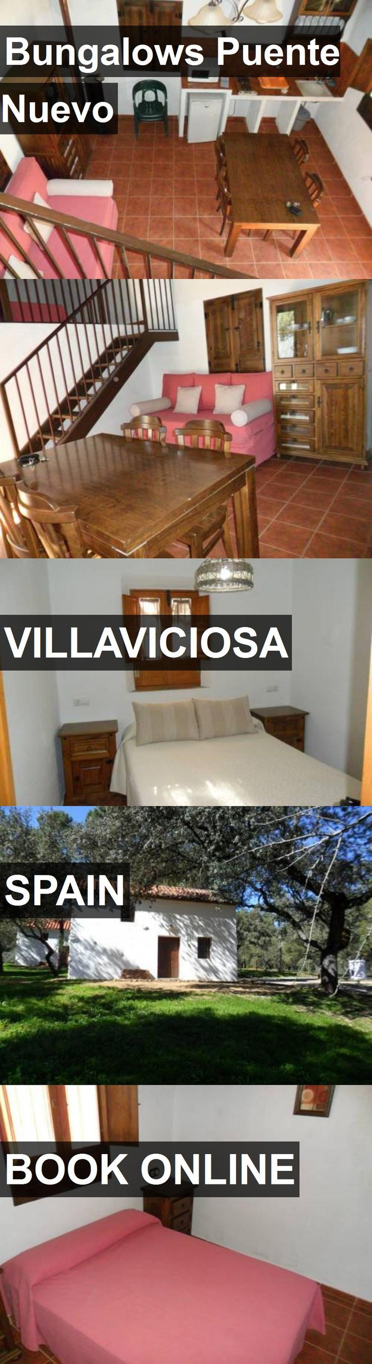 Hotel Bungalows Puente Nuevo in Villaviciosa, Spain. For more information, photos, reviews and best prices please follow the link. #Spain #Villaviciosa #travel #vacation #hotel