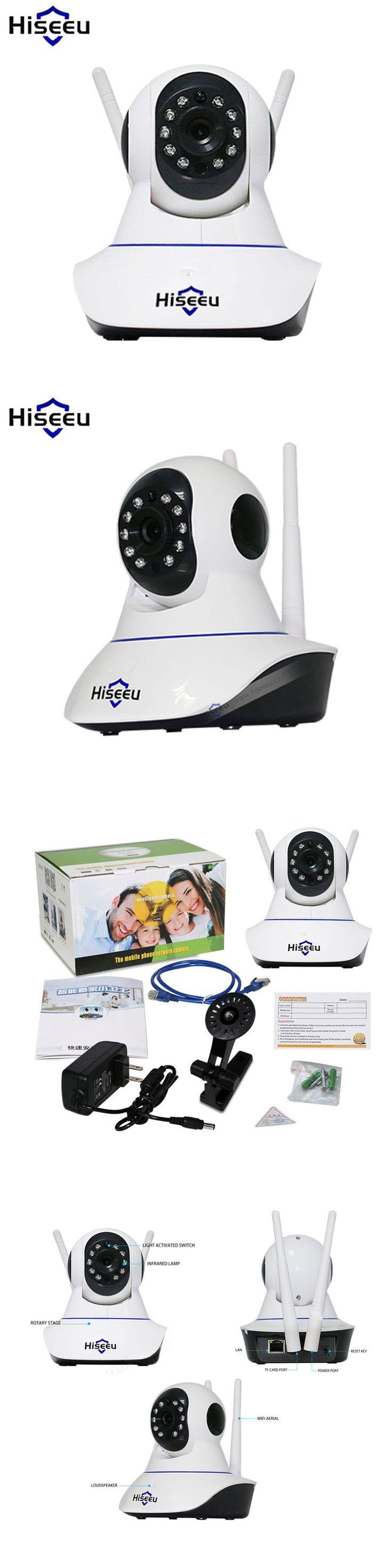 Hiseeu HD 960P Camara De Vigilancia IP Network Wireless Endoscopio Night Vision Camaras De Seguridad Baby Monitor Dropshipping