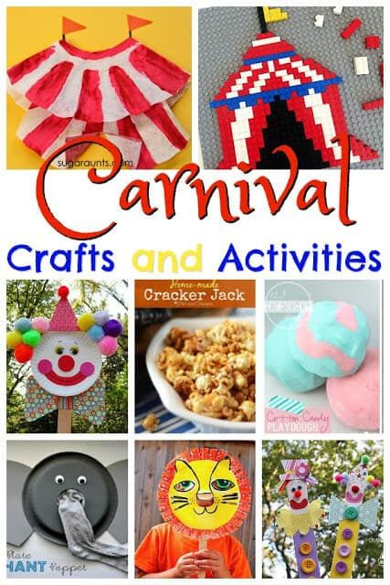 Carnival Crafts and Activities for National Carnival Day (Feb 26 – Preschool Play & Learn ☺️