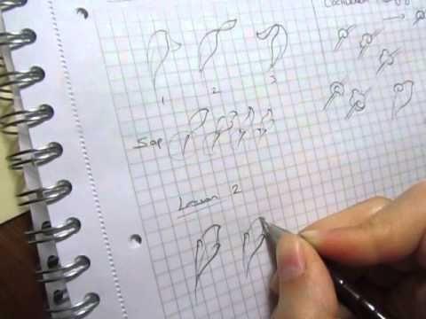 """Tezhip ✿⊱╮ """"Yaprak, salyangoz"""" - YouTube"""