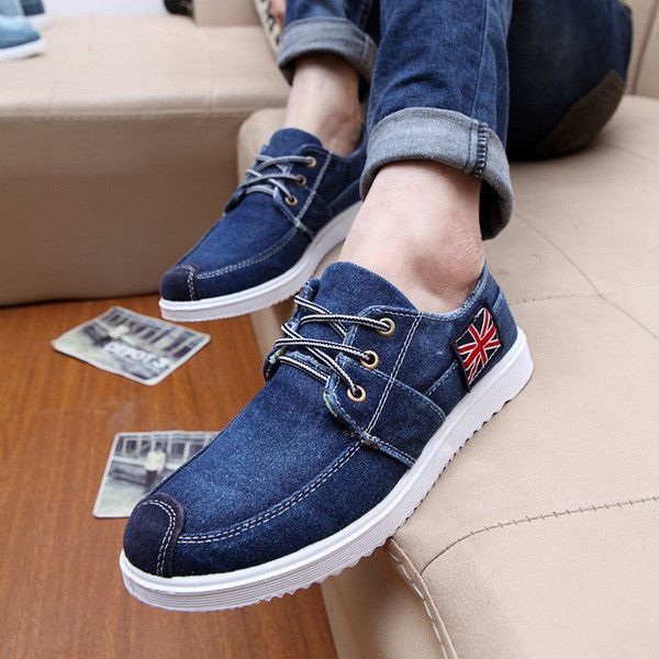 Mens Casual Trend Ankle Slip On Spring Indoor/Outdoor Boat Shoes