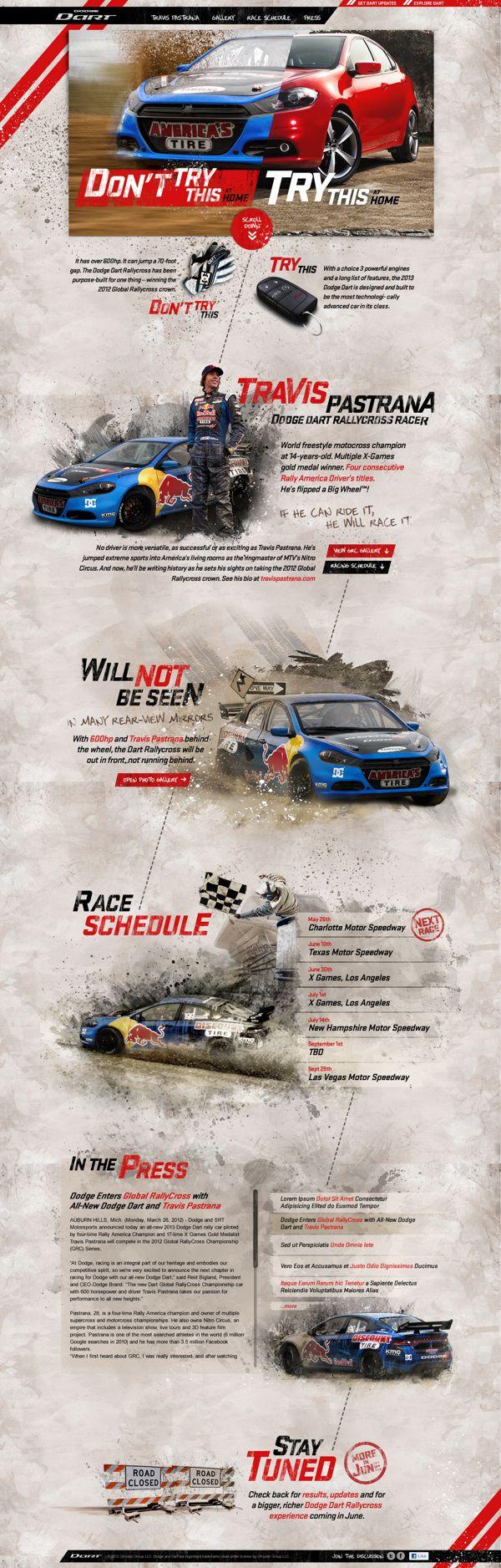 Dodge Dart Global Rallycross on Behance