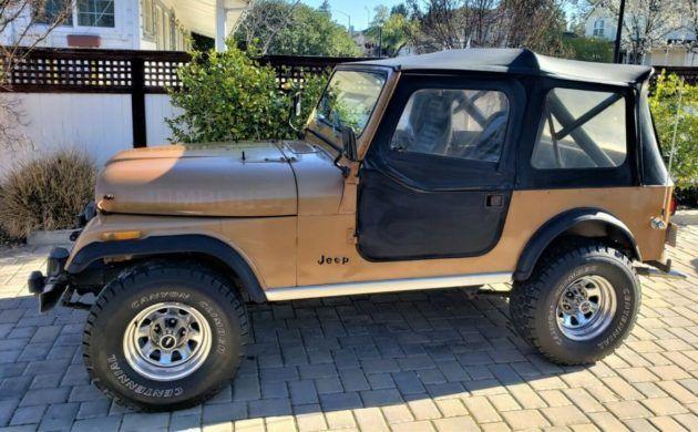Rare Jamboree Edition 1982 Jeep Cj 7 In 2020 Jeep Cj Jeep