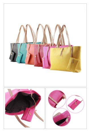 Women's Multi #Colors #Elegant #Luxury PU #Leather Shoulder #Bag #fashion #spring #style https://goo.gl/T2pvd4