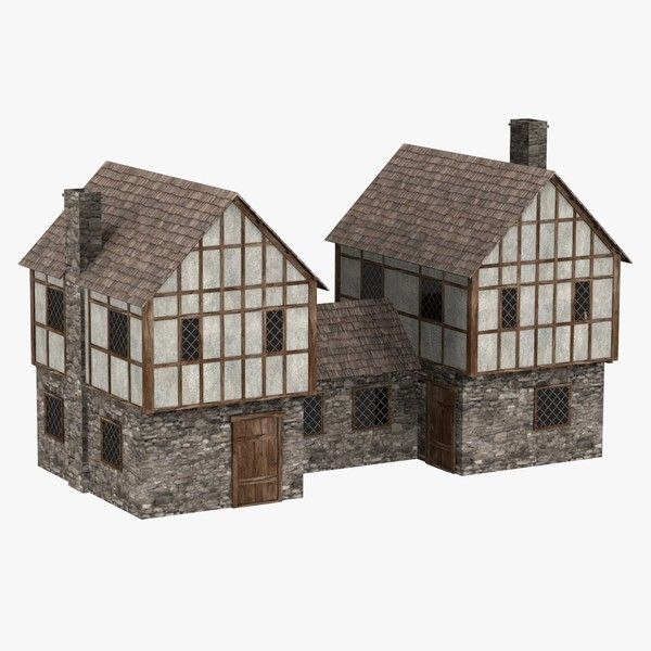 medieval house max - medieval house7... by 3DMB