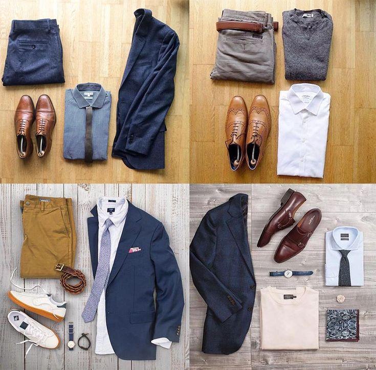 Мужской лук #3: Повседневный офисный стиль