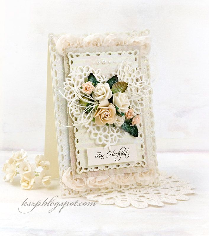 Klaudia/Kszp: 2 kartki z różami / 2 cards with roses
