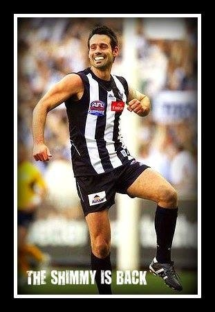 Did's is back ! Go Pies.