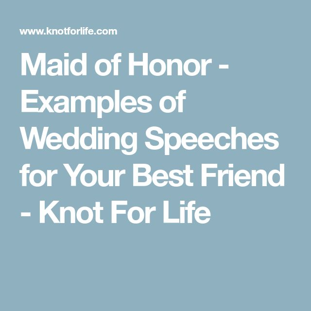 The 25+ best Bridesmaid speech examples ideas on Pinterest - example speech