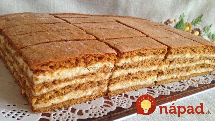 Medové rezy s mliečnym krémom: Zákusok, ktorý ohúri viac, ako drahá torta!