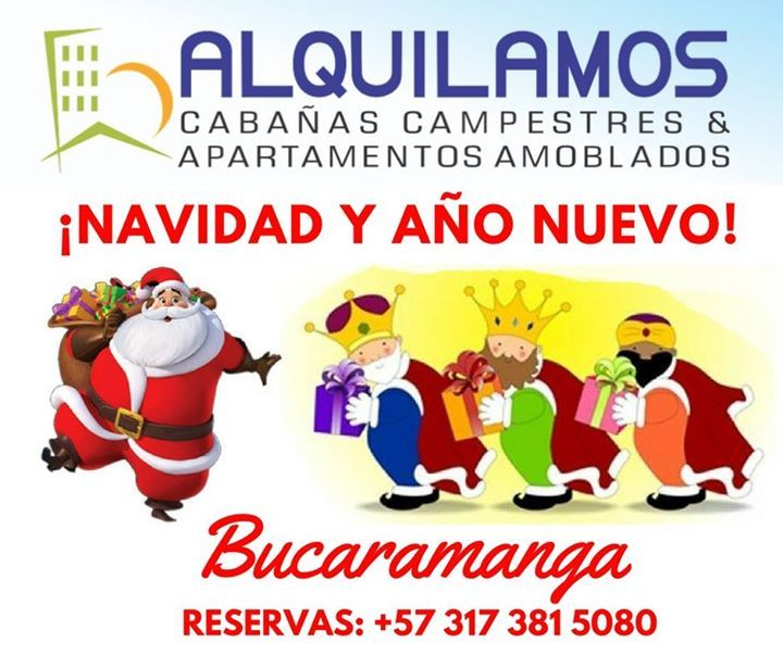 LLÁMANOS, HAZ TU RESERVAAlquilamos Amoblados estamos listos para atender Tu solicitud en esta Navidad
