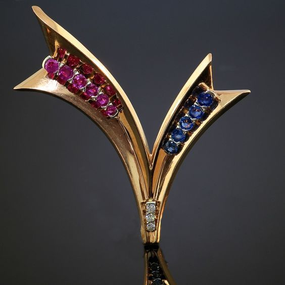 e2d58c649 Paul Flato: Sapphire, Ruby, Diamond & Gold World War II
