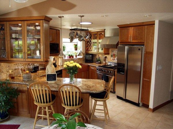 Kitchen Remodel Ideas For Small Kitchens 30 best small kitchens images on pinterest | small kitchens, dream