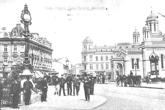 Piaţa Zlătari în anul 1910