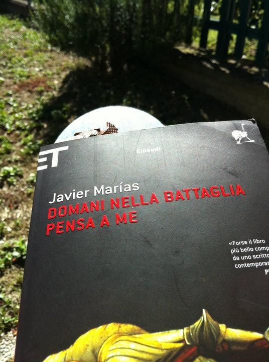 Javier Marias, Domani nella battaglia pensa a me