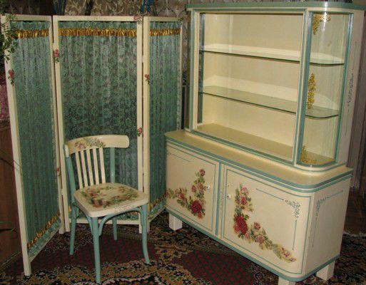"""Купить Комплект мебели """"Розовый сон"""" - сарая мебель, стиль прованс, Дуб, сосна…"""