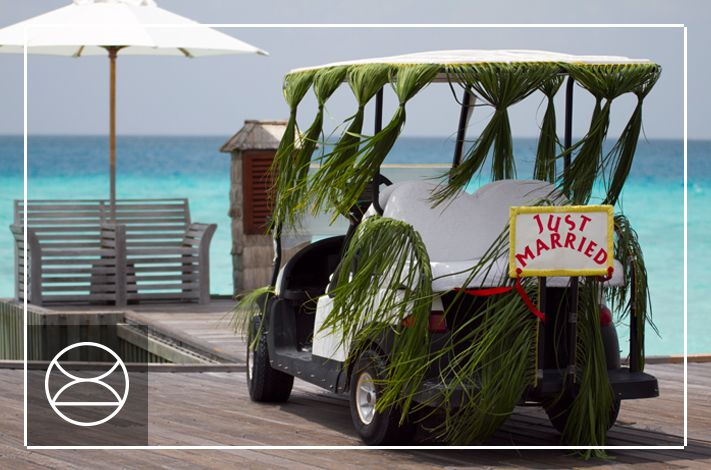 Just Married - Indian Ocean style, at Constance Hotels & Resorts