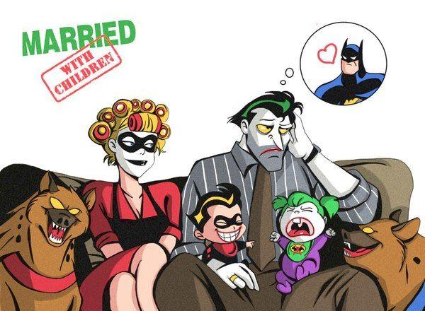 Женаты, с детьми