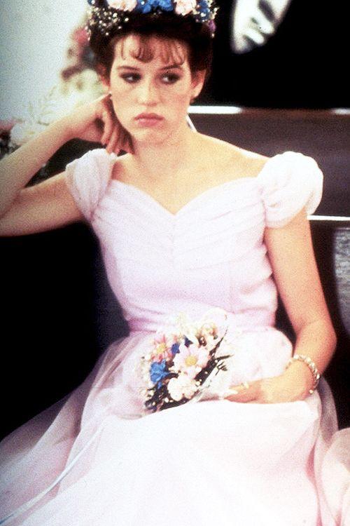 Molly Ringwald in Sixteen Candles. Director: John Hughes, 1984.