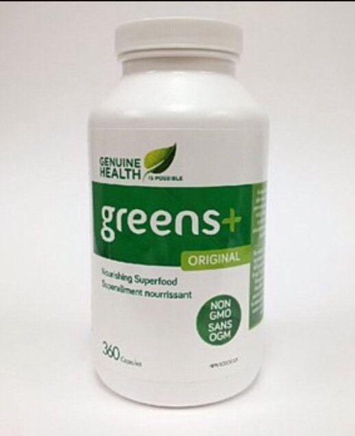 GENUINE HEALTH GREENS+ 360 CAPSULES New Expire 12/2018 | eBay