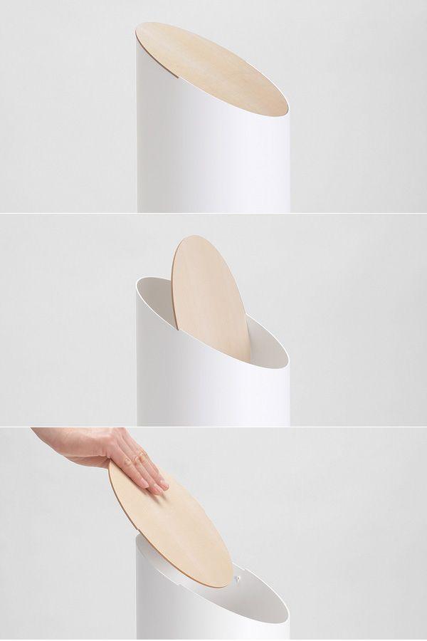 シンプルの限界が生み出す洗練された美しいゴミ箱