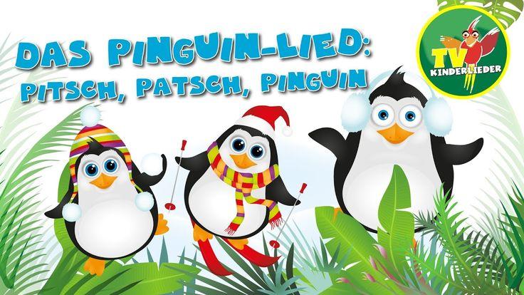 Das Pinguin Lied: Pitsch, patsch, Pinguin - Die schönsten Kinderlieder z...