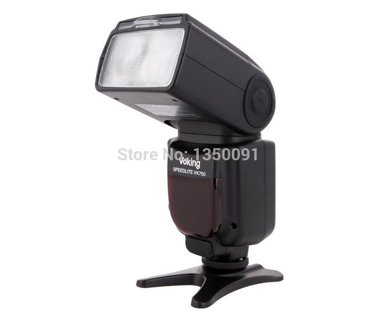 Voking Горячий башмак вспышки Speedlite VK750-N для Nikon D60 D90 D3000 D3100 D3200 D5000 D5100 D5200 D7000 D7100 Цифровые ЗЕРКАЛЬНЫЕ камеры