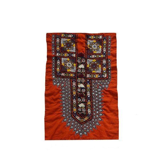 Hand  Embroidered Tribal Gypsy Dress Piece Ethnic by MyCraftPalace