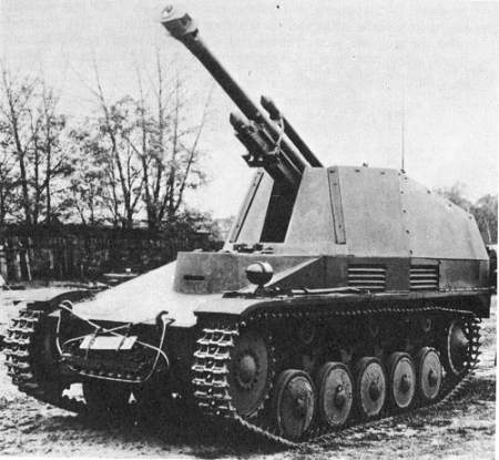 SdKfz 124 Wespe self propelled artillery #warphotography #war