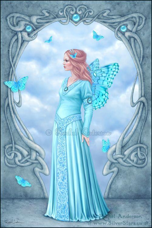 Birthstones - Aquamarine, Rachel Anderson, SciFi Fantasy Art