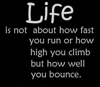 How well you bounceLife Quotes, Quotes Motivation Inspiration, Quotes Etc, Truths, So True, Quotes Sayings, Living, Inspiration Sayings, Bounce